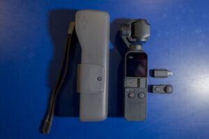 DJI OSMO POCKET 3-AXIS GIMBAL 4K HANDHELD VIDEO CAMERA +TRIPOD HOLDER ACCESSORY