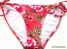 MISS SELFRIDGE FLORAL SIDE TIE BIKINI BOTTOMS ~ SIZE 10/12 #55