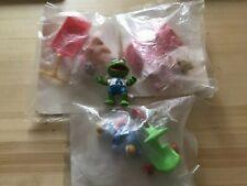 Vintage 1986 Muppet Babies Sealed Kermit & Miss Piggy Figures Jim Henson Cbs