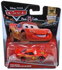 Disney Cars Radiator Springs Road Repair Lightning McQueen Diecast Car #12/14