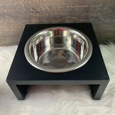 Deluxe Dog Stainless Steel Bowl with Stand NEW