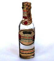 Vtg Viuda De Martinez Miniature Liquor Bottle Tequila Supreme Sealed Tax Empty