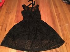 Selena Gomez Dress Black Size XS Rn#59775