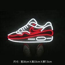 New 2021 Nike Air Max sneakers glass tube night lights neon lights lamp sneaker