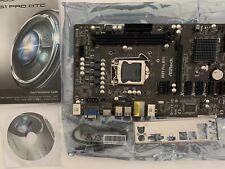 Motherboard ASRock H61 Pro BTC REV 1.0 INTEL LGA1155 Core i7 / i5 / i3 / Xeon