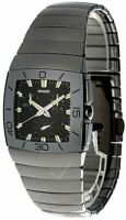 RADO Sintra Tennis 35MM CHRONO Black Dial Ceramic Men's Watch R13600022