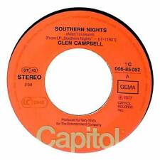 "Glen Campbell - Southern Nights - 7"" Record Single"