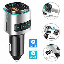 Bluetooth Car FM Transmitter MP3 Player Wireless Radio Adapter Dual USB Charger