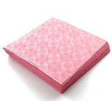 25 x Rosa Caramella usa e getta TOVAGLIE FESTE MATRIMONI TAVOLA copre 90x88cm