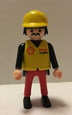 Playmobil Figure Formula One Racing Team Nascar Pit Crew Boss Shell 3289 3603