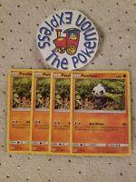 Pokémon TCG 4x Pancham #81/181 SM Tag Team Up MINT English Fighting Type