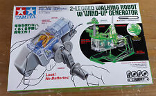 Tamiya 71121 2-Legged Walking Robot W/Wind-Up Generator Model Kit