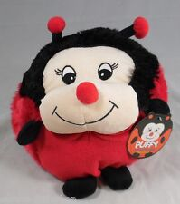 Kellytoy Puffy Lady Bug Ladybird Beetle Insect Soft Toy Plush Collectable NEW