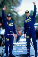 Colin MCRAE SUBARU IMPREZA 555 Vincitore San Remo Rally 1996 Fotografia 5