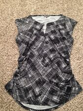 Womens Vince Camuto  Shirt Size L Black/White
