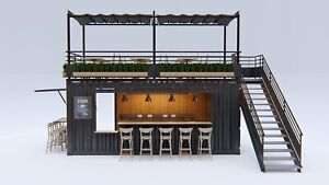 20ft Shipping container Bar Restaurant Coffee shop