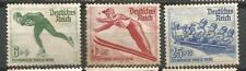 ALEMANIA Scott# B79/81 Nueva Olimpiadas de invierno