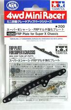 TAMIYA MINI 4WD PIASTRA RINFORZO TELAIO SUPER X CHASSIS FRP PLATE  ART 15242
