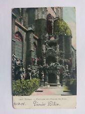 Antwerp(Anvers) Belgium Vintage colour Postcard 1905 Calvaire de l'Eglise StPaul