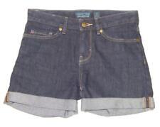 PATAGONIA Women's Dark Blue Wash Mid Rise Rolled Hem Denim Shorts Size 24