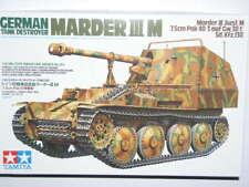 Tamiya 1/35 German Tank Destroyer Marder III M Model Tank Kit #35255