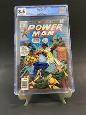 Power Man #49 CGC 8.5 2nd IRON FIST 1978 Bushmaster App Newly Graded!