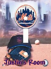 Personalized New York Mets Baseball Light Switch Plate Cover