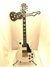 #5324 Epiphone Les Paul LP Custom 2004 Korea Alpine White Electric Guitar & Case
