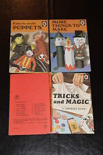 Ladybird 663 Tricks & Magic; More Things to make; Easy to make Puppets Christmas