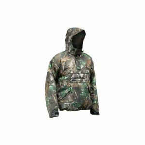 Shimano Tribal Hardwood Green Anorak Pullover Jacket Waterproof & Breathable