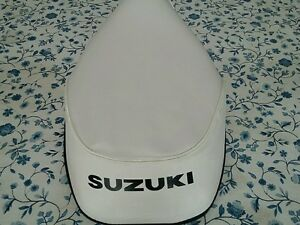 SUZUKI FA50 SEAT COVER 1980 TO 1991 SEAT COVER WHITE  BEST QUALITY  (S-17)
