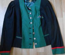 Hammerschmid Damen Trachten Jacke  schwarz grün rot Gr.38