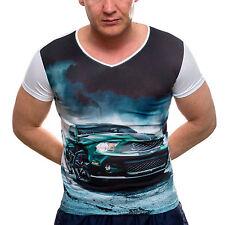 Figurbetonte Young & Rich Kurzarm Herren-T-Shirts
