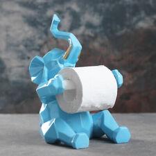 Blue Elephant Toilet Paper Holder - Free Standing Toilet Paper Holder