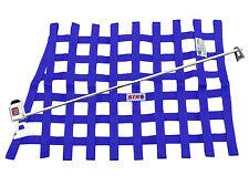 STR Race Window Net SFI 27.1 Certified Installation Kit Autograss Mini - Blue