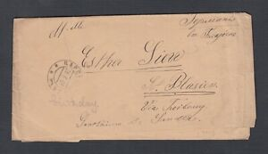 RUSSIA 1906 2K POSTAL STATIONERY WRAPPER  ЦАРС…? TO ST BLASIEN