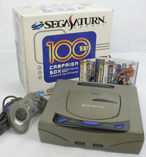 Sega Saturn GREY Console System Campaign Boxed HST-3200 Tested B50261175