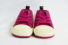 Ralph Lauren Layette Shoes Infant Aruba Pink Corduroy University Hi Size 1 New