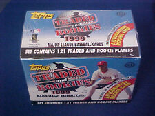 1999 Topps Traded Box set Baseball Card factory sealed with Autograph + BONUS
