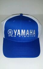 New Genuine Yamaha Pro Hat Blue with Cool White Mesh Adjustable