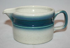 Vintage Wedgwood Blue Pacific Creamer  Made in England Retro Oven to Table