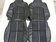 HOLDEN HJ HX HZ GTS UTE PANELVAN FRONT SEAT KIT 18V SLATE WITH BLACK GOLFBALL