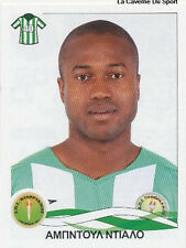 N°249 STEVE BELECK CAMEROON PANTHRAKIKOS STICKER PANINI GREEK GREECE LEAGUE 2010