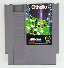 Othello (NES) Game Cartridge and Instruction Booklet
