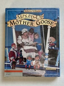 Mixed-up Mother Goose Apple II. Roberta Williams (Sierra) 1987 New Sealed