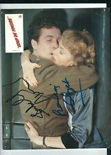 Double autographe de Isabelle HUPPERT et de François CLUZET sur photo de film