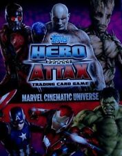 Topps Hero Attax Marvel Cinematic Universe ALL 16 MIRROR FOILS 33 TO 48