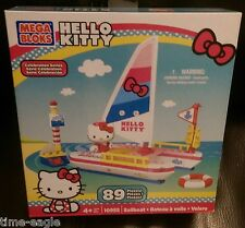 Mega Bloks Hello Kitty Busy Sailboat (Rare)