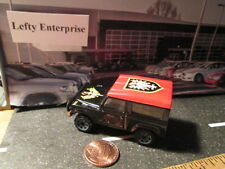 Matchbox Black LAND ROVER With Red Top SCALE 1/62 - LOOSE! NO BOX! Rare!