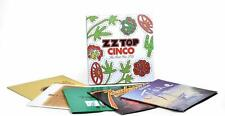 zz top Cinco The First Five Lp'S (Box 5 Lp) [lp_record] Zz Top nuovo sigillato